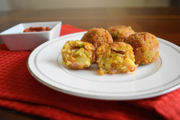 Spicy Ham and Cheese Croquettes