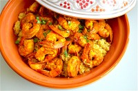 Moroccan Style Shrimp - Jeanie and Lulu's Kitchen