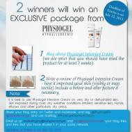 I won the Sample Room x Physiogel Contest!