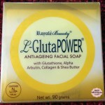 REVIEW: Royale Beauty L-GlutaPOWER Anti-Ageing Facial Soap