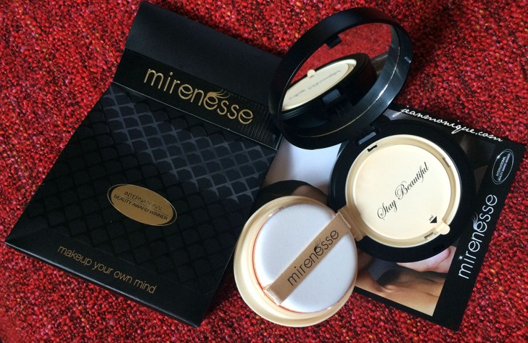 Review: Mirenesse 10 Collagen Cushion Compact Airbrush Liquid Powder