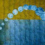 Detail of Flowing by Jeanne Marklin