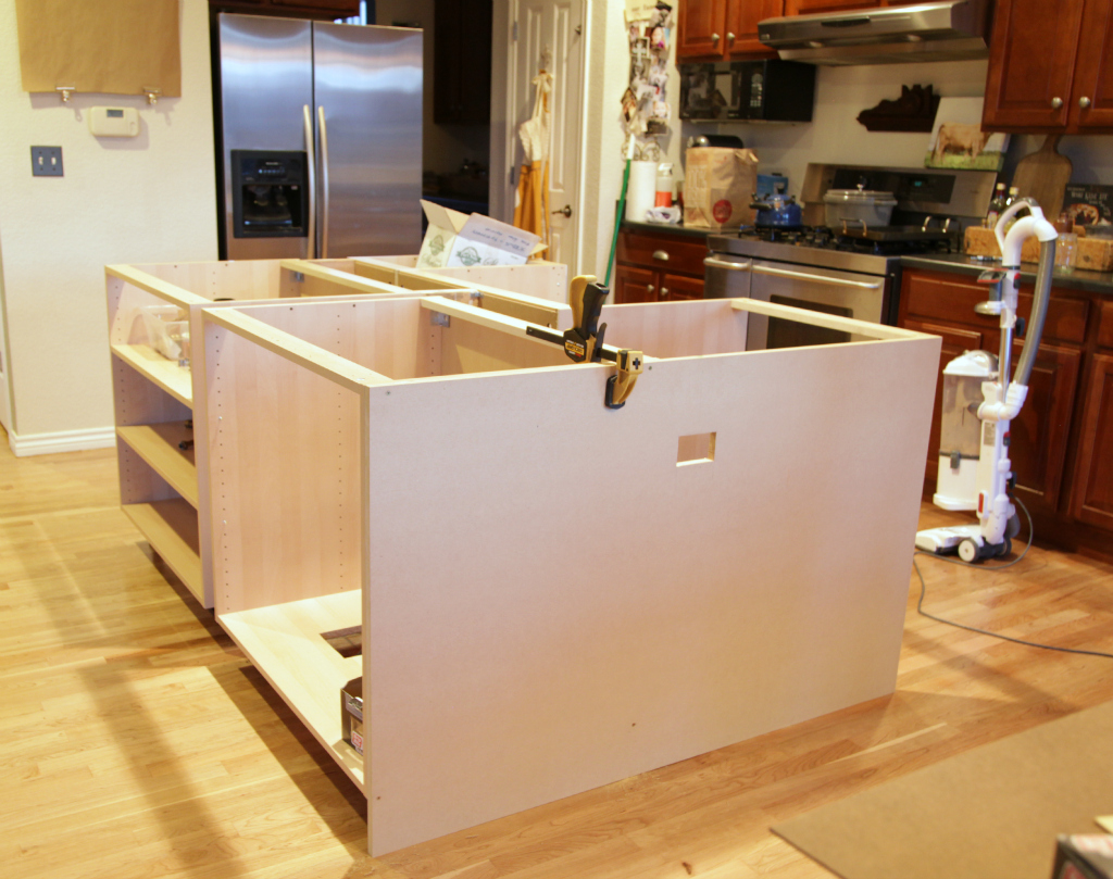 Kitchen Cabinets Made Into Island Ikea Hack How We Built Our Kitchen Island Jeanne Oliver