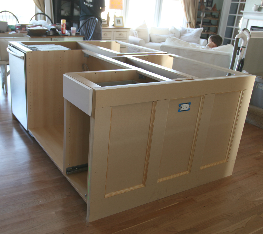 Ikea Küchenmodule Ikea Hack How We Built Our Kitchen Island Jeanne Oliver