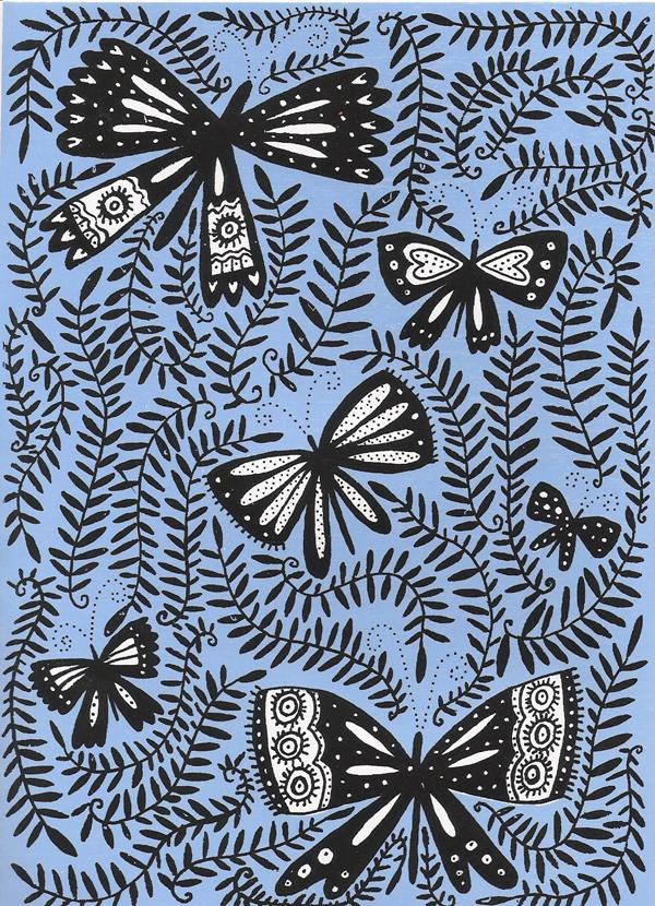 A Wallpaper Fall Jeanne Van Etten Pretty Paper