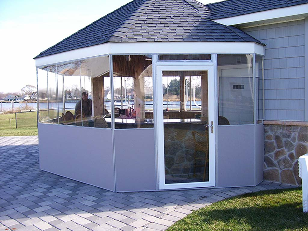 Temporary Patio Commercial Enclosures