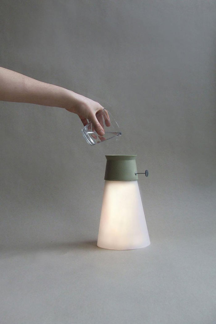 Homepage Designer Wat | Led Cordless Lamp Powered By Water