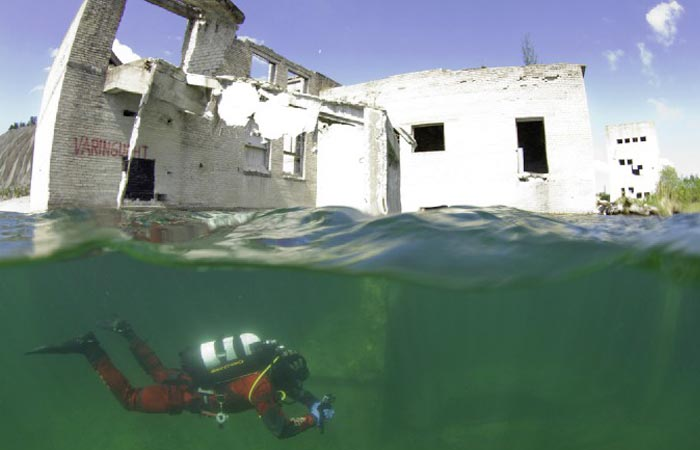Best Kitchen Islands Rummu Underwater Prison | Estonia