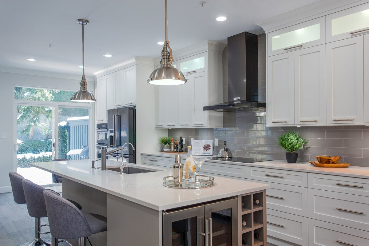 Kitchen Cabinets Port Coquitlam Open Concept Port Coquitlam Kitchen Jedan Brothers Contracting
