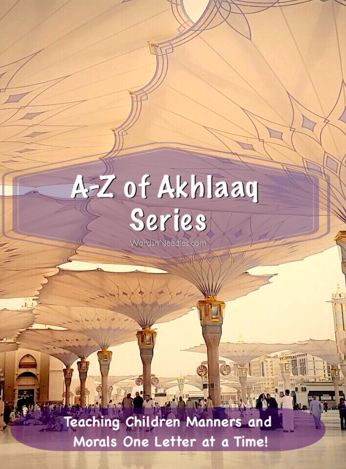 A-Z of Akhlaaq Series - Manners and Morals for Children