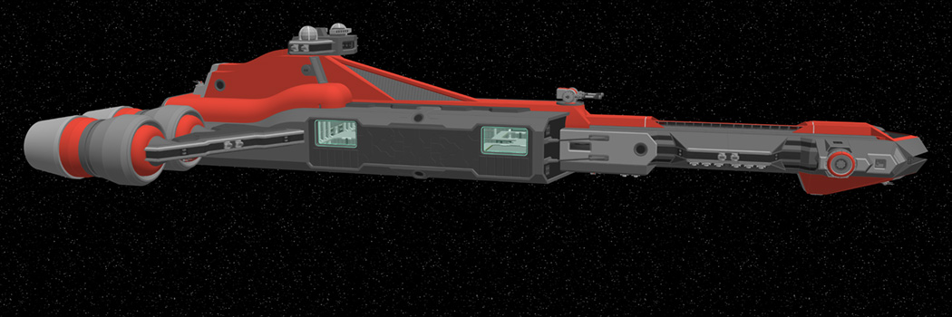 It's all in the name — P230-4 Inquisitor-Class Frigate