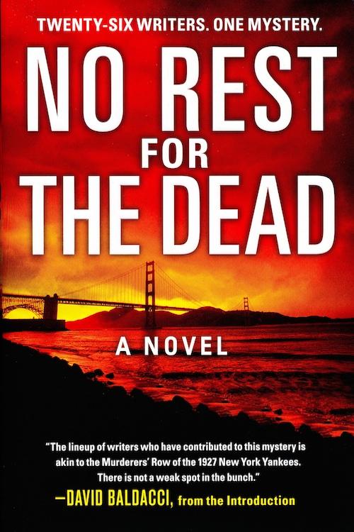 No Rest for the Dead Twenty-Six Writers One Mystery - Jeff Abbott - presumed guilty book