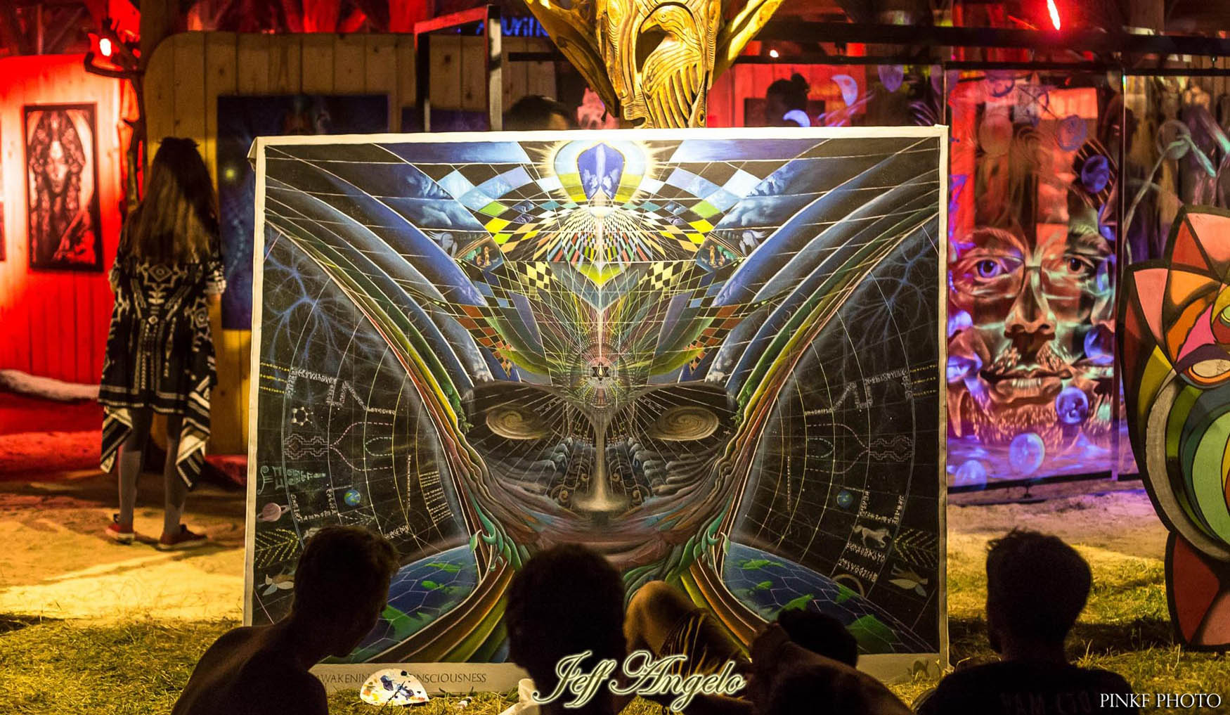 Ozora Festival Live Painting During Ozora Festival 2017 Hungary Jeff Angelo