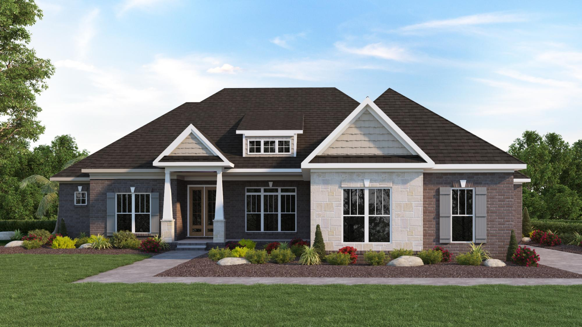 Plan Veranda The Veranda Home Builders Huntsville Al