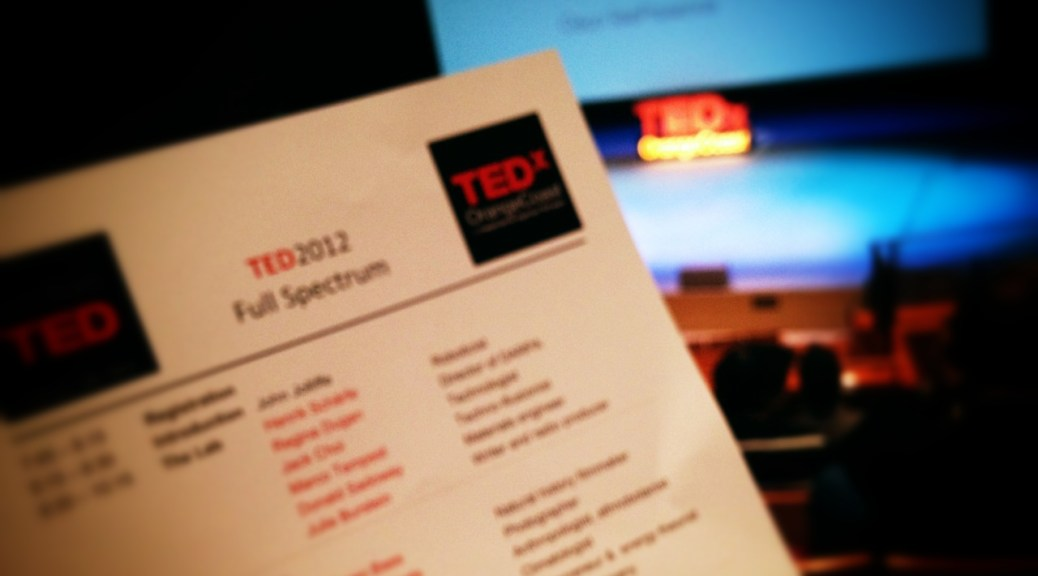 TED 2012 Simulcast at Soka University