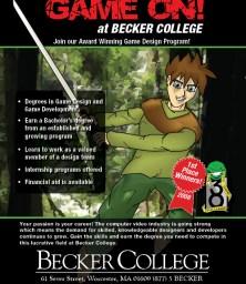 Becker Game Ad