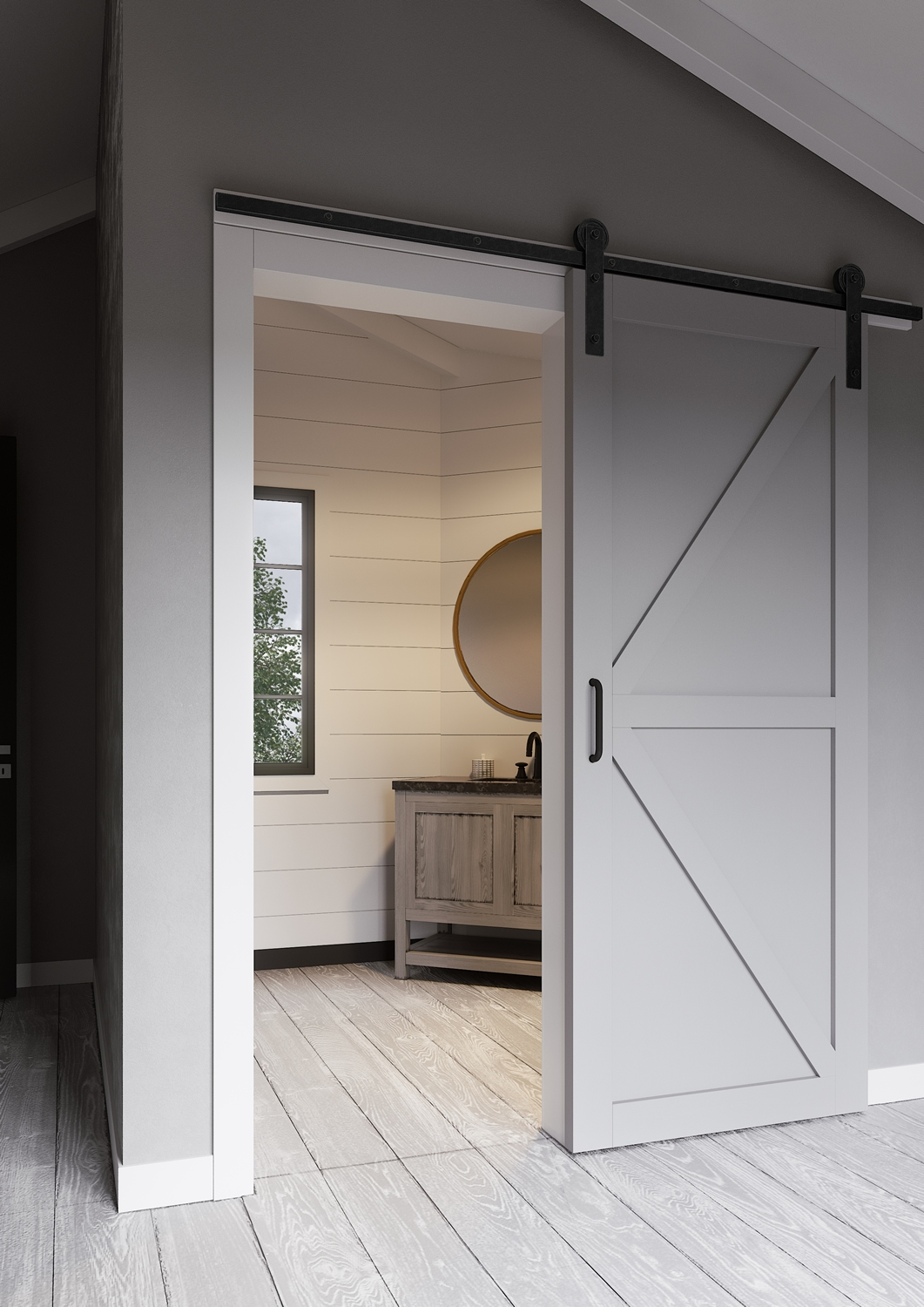 Craftsman Style Interior Doors Doors | Jeff Lewis Design