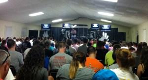 Getaway 2013: Day 1 Preaching