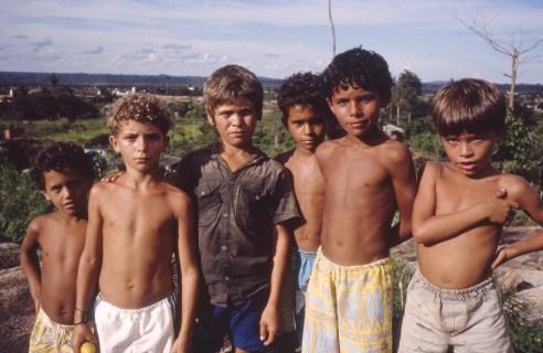 Boys Flying Kites, Rondonia