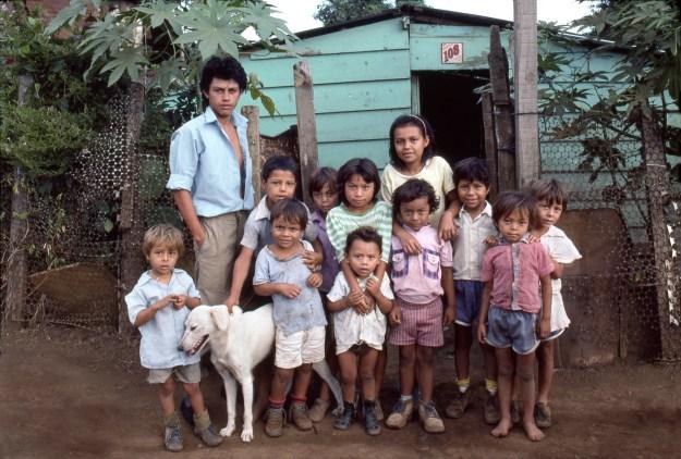 Children in Barrio near Mercado Huembes in Managua