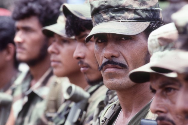 Contra Soldier in Formation