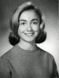 Hillary Clinton High School Year Book TeenAger