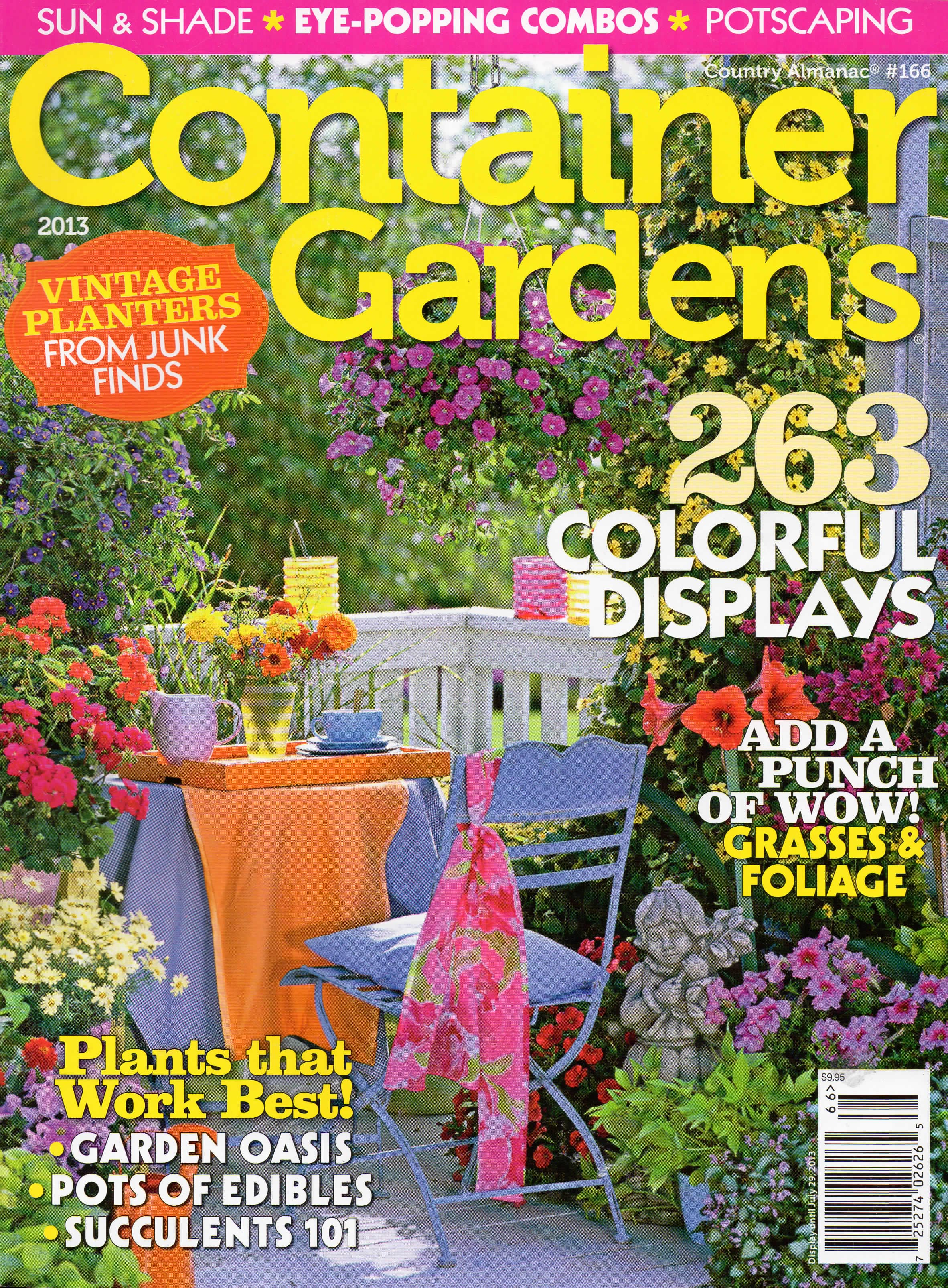 Magazin Container In The News Container Gardens Magazine Erbology