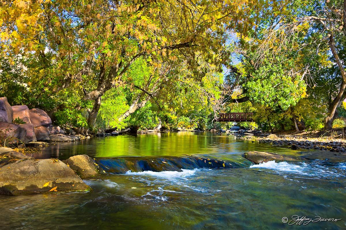 Fall Leaves Desktop Wallpaper Backgrounds Early Autumn Ogden River Jeffrey Favero Fine Art Photography