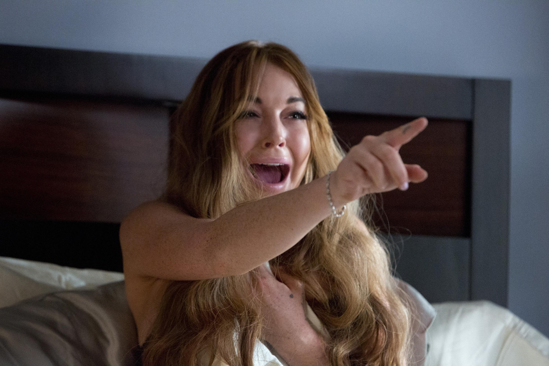 Lindsay Lohan Scary Movie