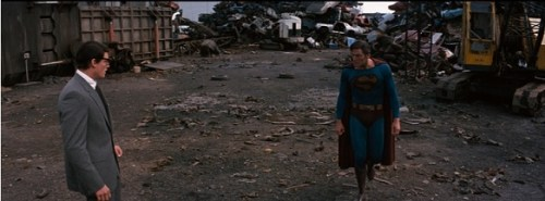 Superman III Clark Kent ready to fight Superman