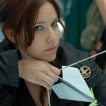 Katieasaur Cosplay as Katniss Everdeen
