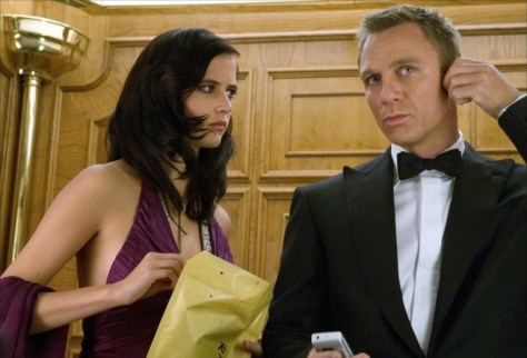 Casino Royale Eva Green and Daniel Craig