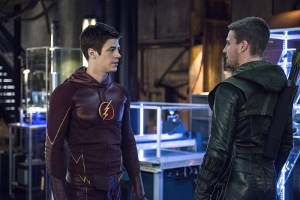 Arrow - Episode 3.08 - The Brave and the Bold - Barry and Oliver