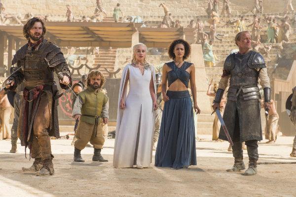 Game of Thrones - S5Ep. 9 - Dance of Dragons - Daario, Tyrion, Dany, Melisandre and Jorah
