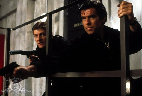 GoldenEye - 006 Sean Bean and 007 Pierce Brosnan