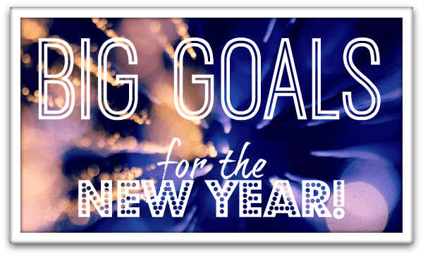 Audacious Goals for the New Year