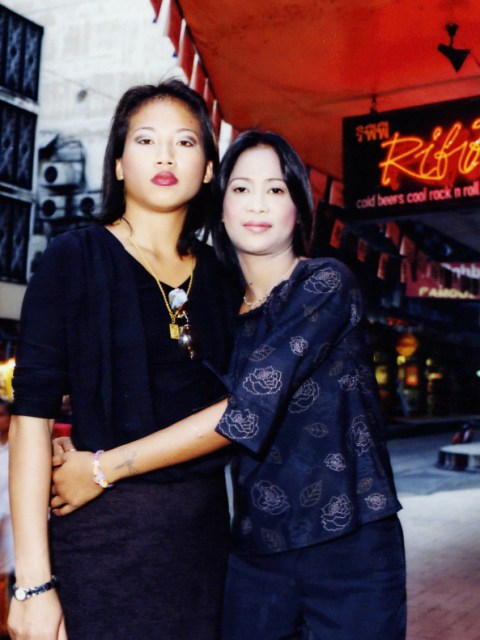 Francis and Uon Patpong, Bangkok  June 2003