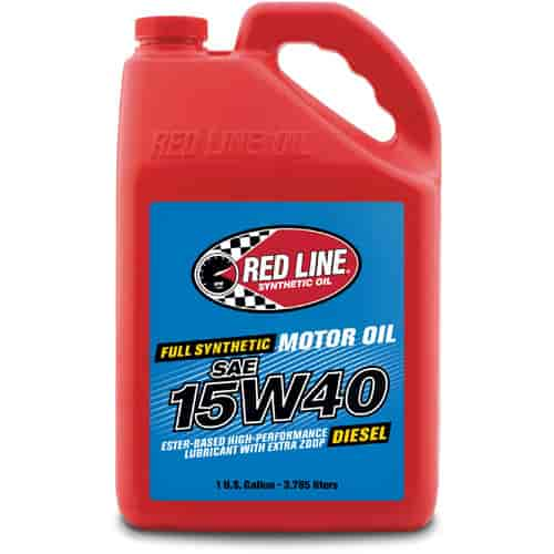 15w40 Olie Red Line Oil 21405 Synthetic Diesel Motor Oil 15w40 1