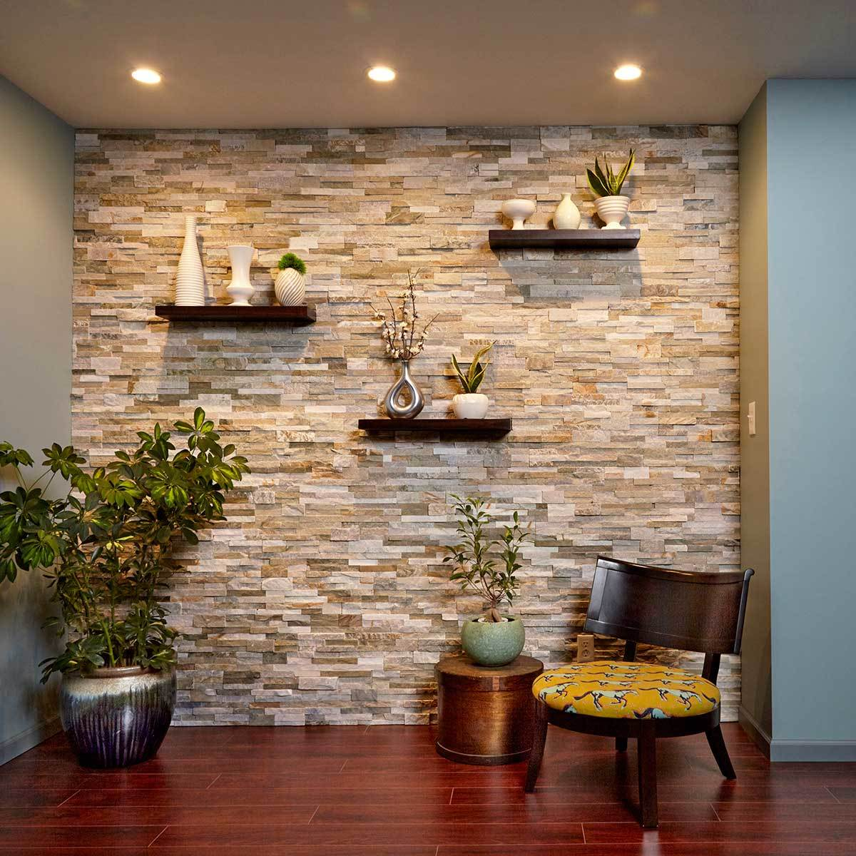 Accent Stone Wall 35 43 Accent Wall Ideas To Make Your Home More Stunning