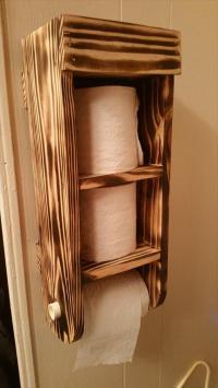 toilet paper holder wood creative toilet paper holder ...