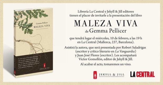 Maleza viva Microrrelatos de Gemma Pellicer