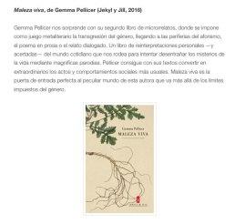 microrrelatos Gemma Pellicer