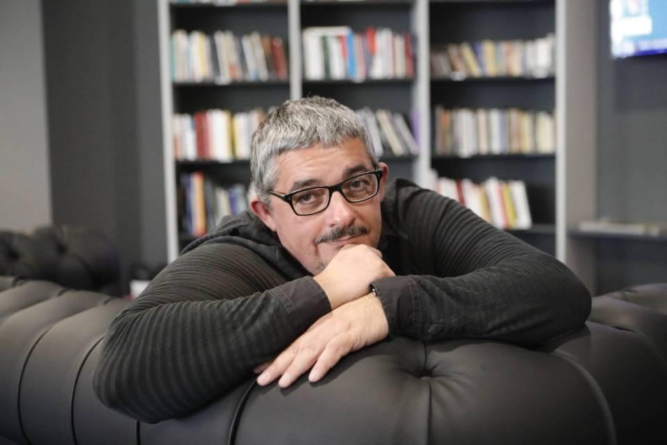 Rafa Cervera posa en la redacción de EL PAÍS. GEMA GARCÍA