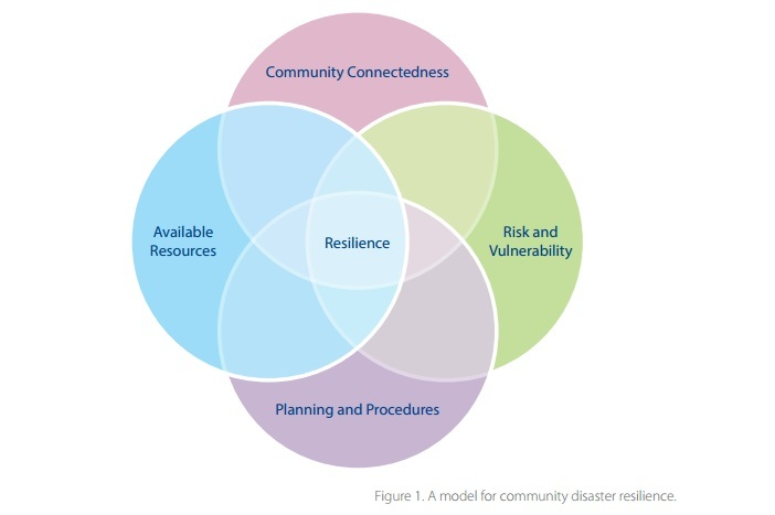 A model for community disaster resilience Community City - product evaluation form
