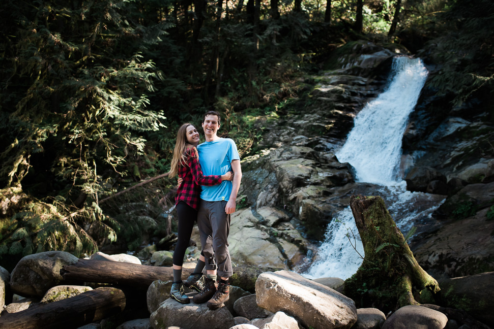 Photos of an adventurous hike to crystal falls coquitlam bc Crystal falls