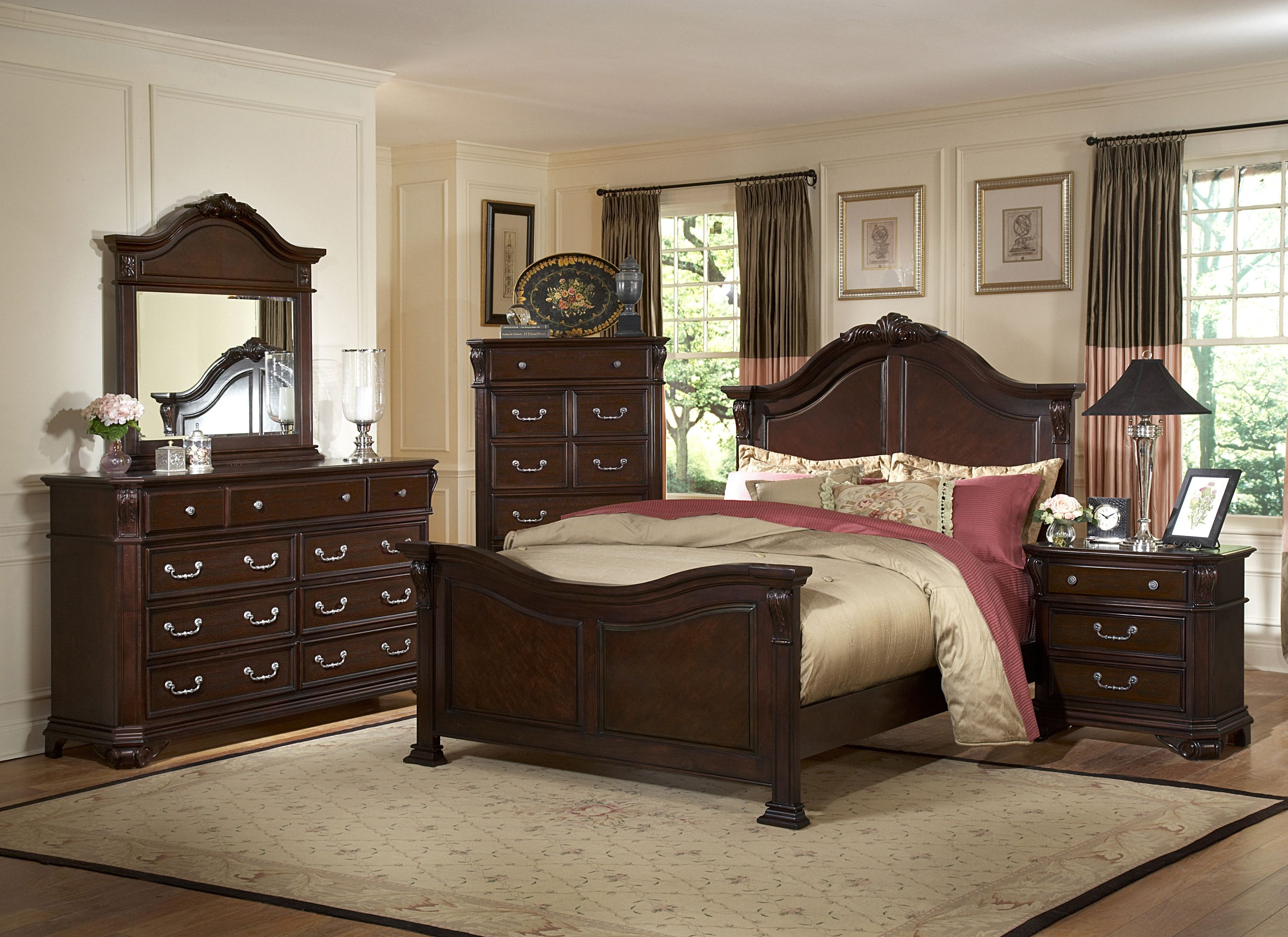 Devon 7 Pc Bedroom Set
