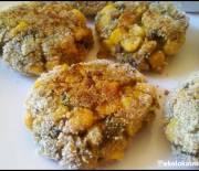 Kotlety kukurydziano-pieczarkowe