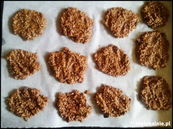 Kakaowe ciasteczka jaglane