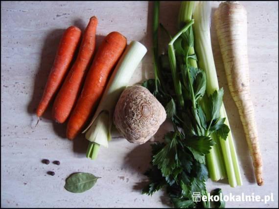 Bulion warzywny (wegański rosołek)