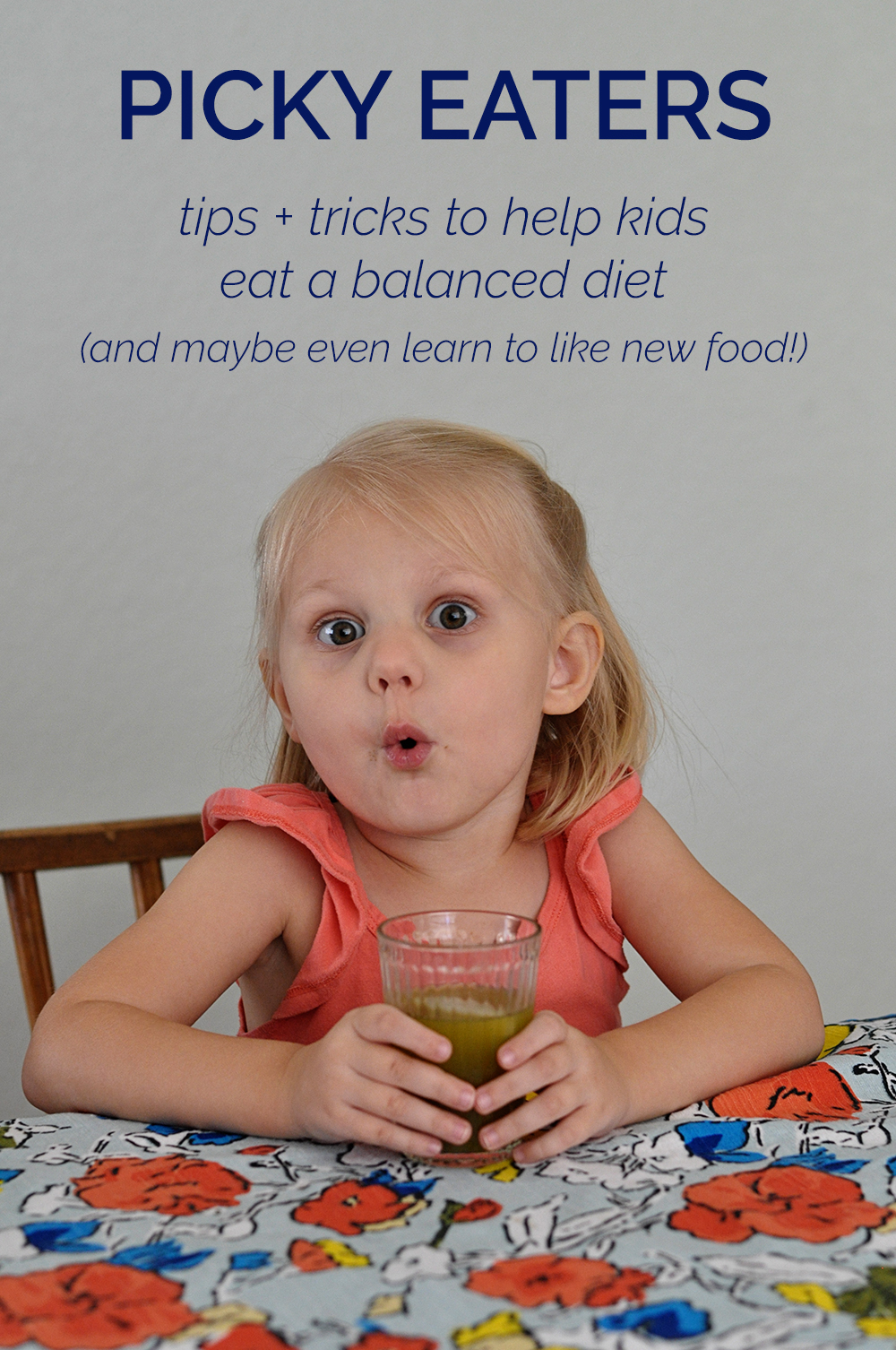 helping a picky eater eat a balanced diet (and maybe learn to like new food!)